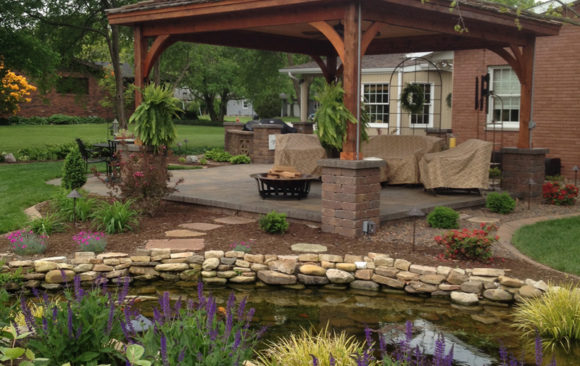 Pond Edge Gazebo